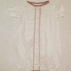 Pima cotton baby gown